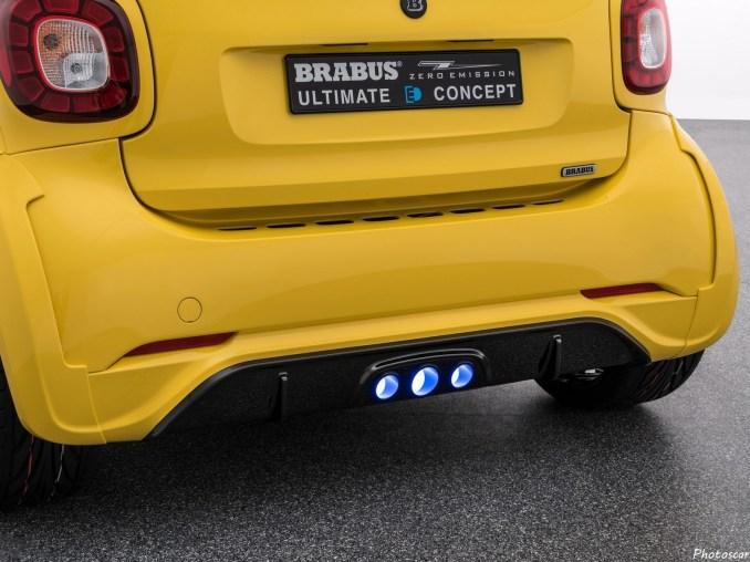Brabus Ultimate E Concept C453 2017