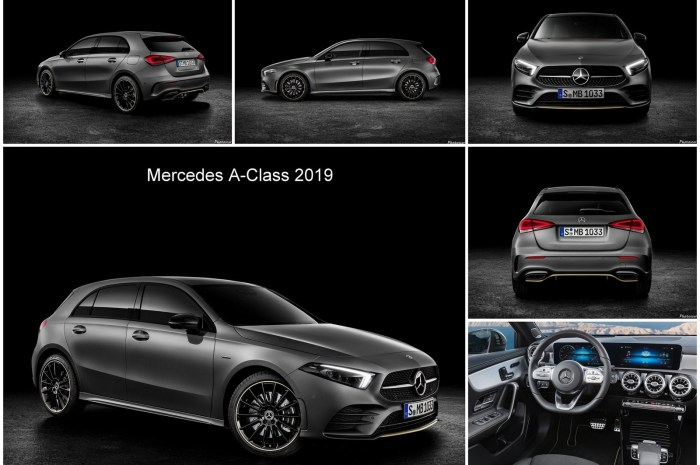 Mercedes Classe A 2019 – Elle touchera d'abord le marché européen