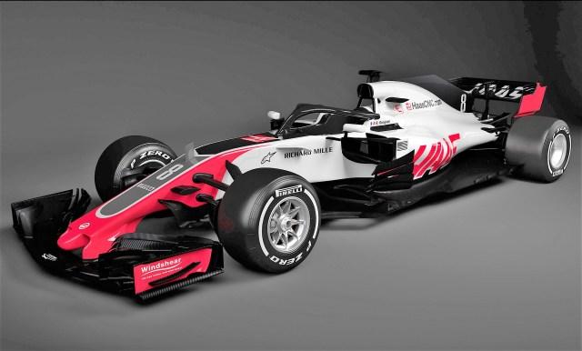 Haas VF-18 2018