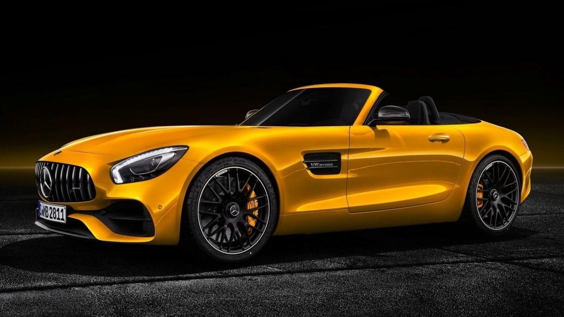 Mercedes AMG GT S Roadster 2019: Entre les roadsters GT et GT