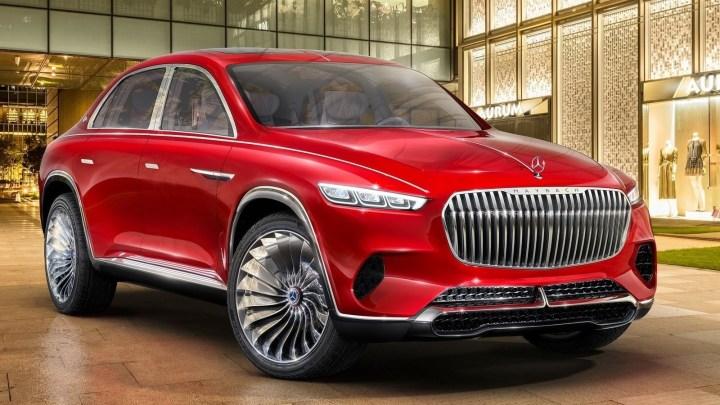 Mercedes Maybach Vision Ultimate Luxury 2018 dévoilé au salon de Pékin