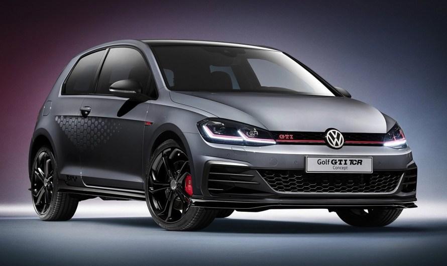 Volkswagen Golf GTI TCR Concept 2018 dévoilé avec 286 chevaux