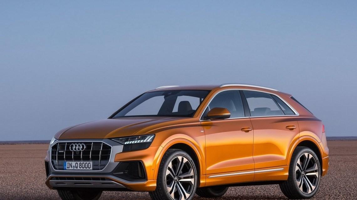 Audi Q8 2019 – Quatre roues motrices avec un différentiel central