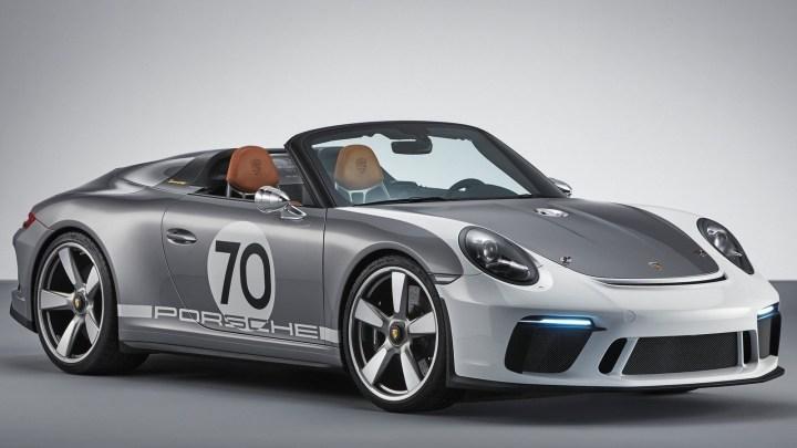 Porsche 911 Speedster Concept 2018 pour son 70ème anniversaire
