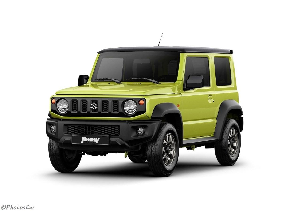 Suzuki Jimny (2019) - Conçu sur une nouvelle plate-forme - Esprit rétro
