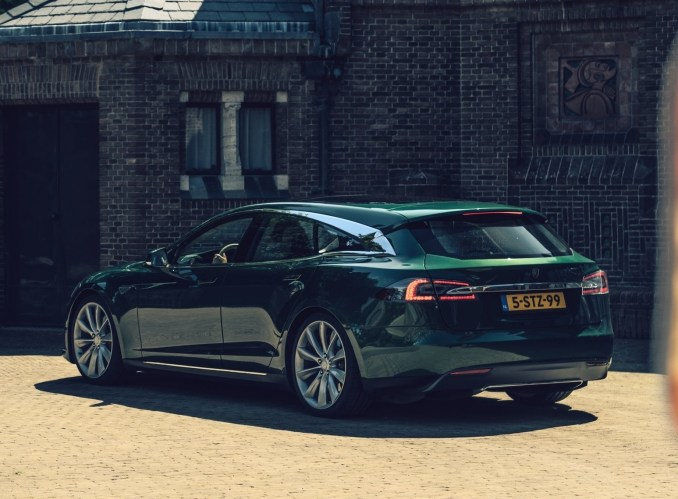 Tesla Model S Shooting Brake (2018)