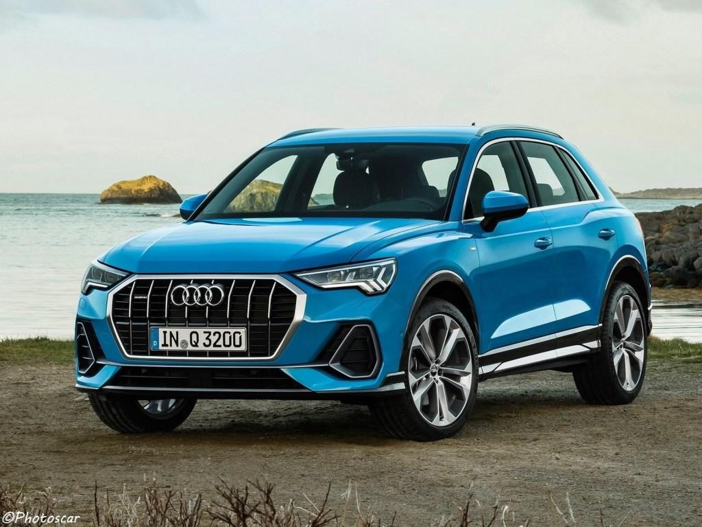 Face avant de l'Audi Q3 2019