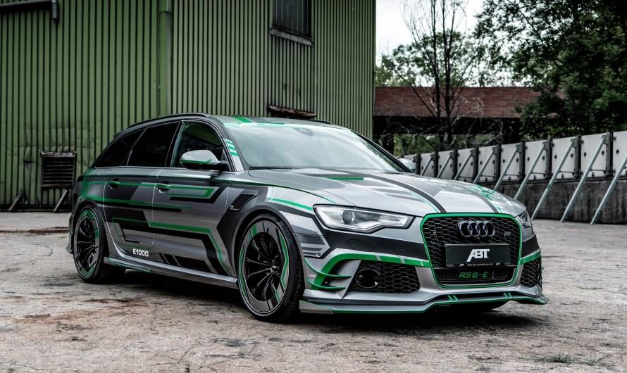 ABT Audi RS6-E Avant Concept 2018: Wagon hybride de 1000 chevaux