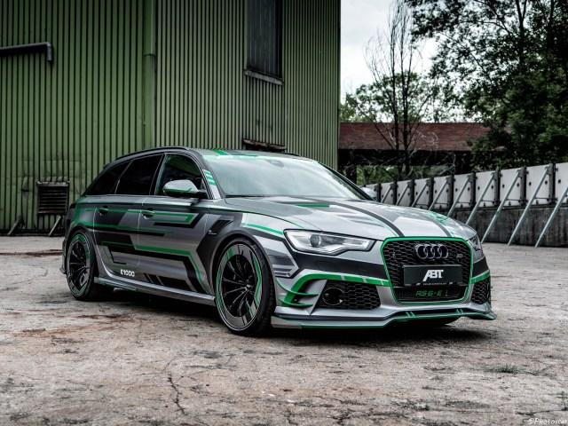 ABT RS6-E Avant Concept 2018