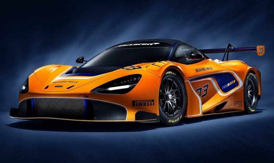 McLaren 720S GT3 2019 est équipée d'un système de propulsion arrière