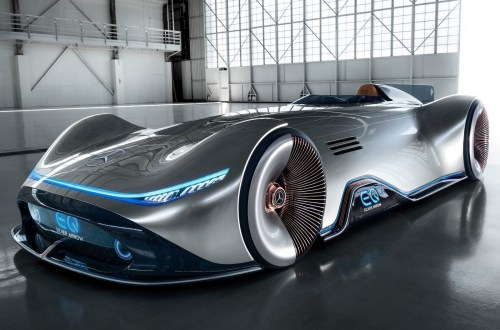Mercedes Vision EQ Silver Arrow Concept 2018
