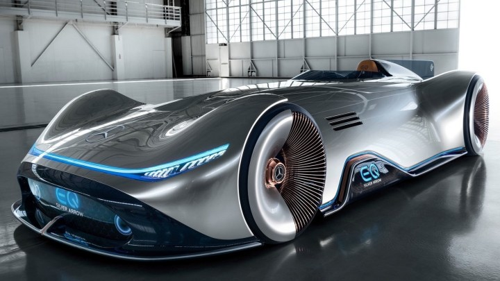Mercedes Vision EQ Silver Arrow Concept 2018 – un design futuriste