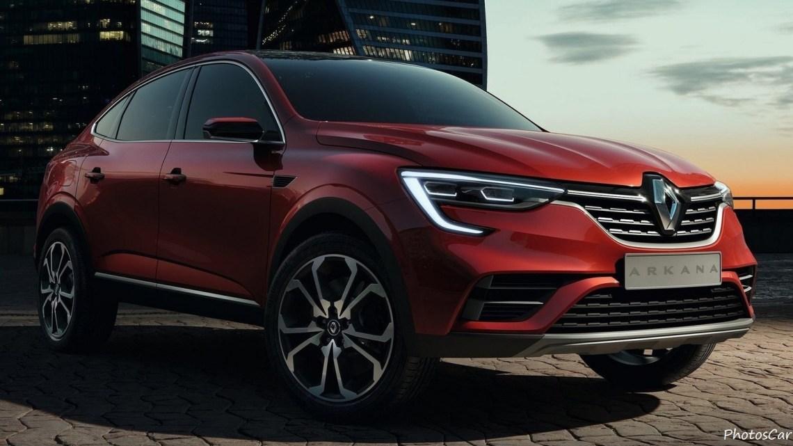 Renault Arkana Concept 2018 présente un design puissant et attrayant