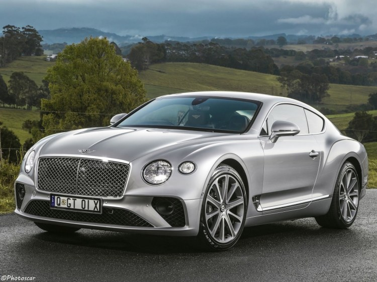 Bentley Continental GT AU 2018