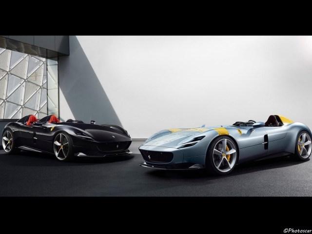 Ferrari Monza SP1 SP2 2019