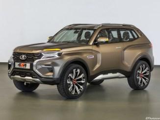 Lada 4×4 Vision Concept 2018