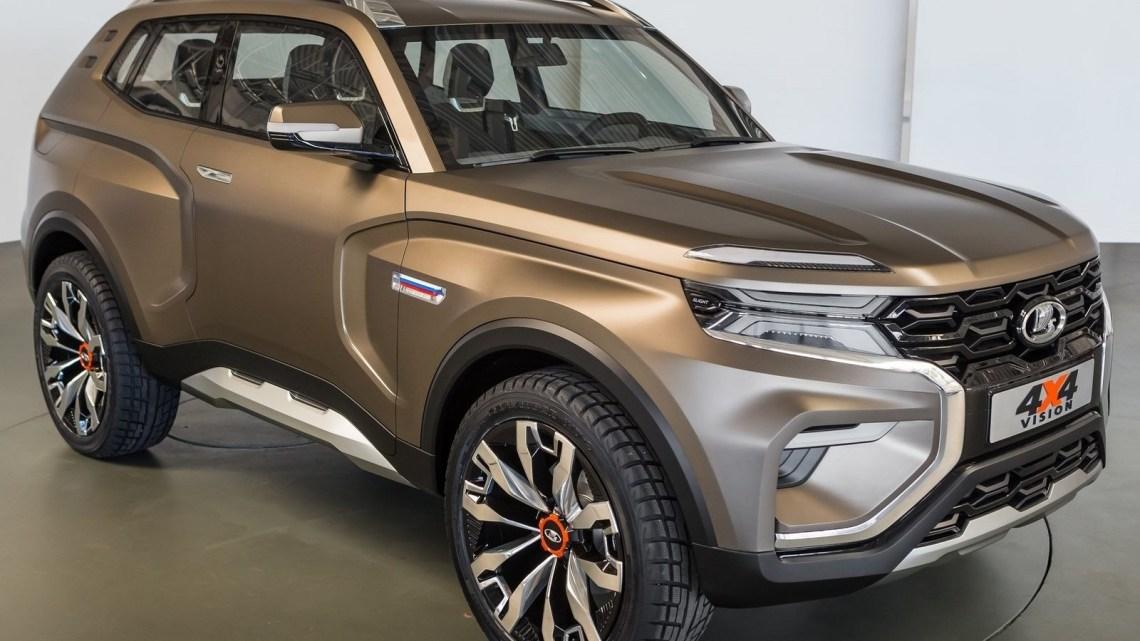 Lada 4×4 Vision Concept 2018 devient officiel au salon de Moscou