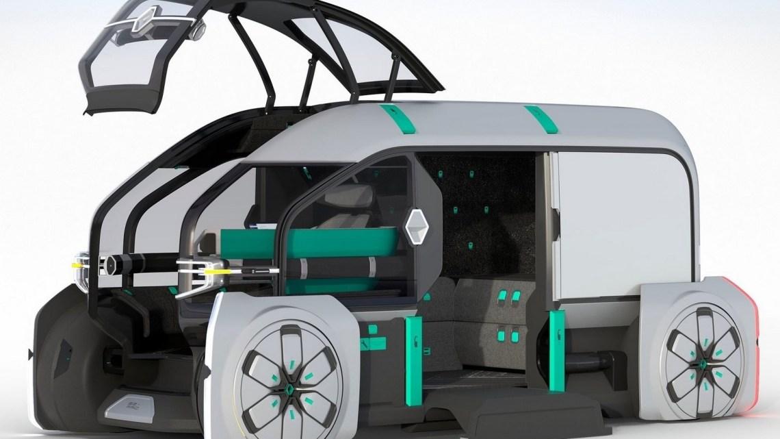 Renault EZ-PRO Concept 2018 – Véhicule autonome pour les livraisons