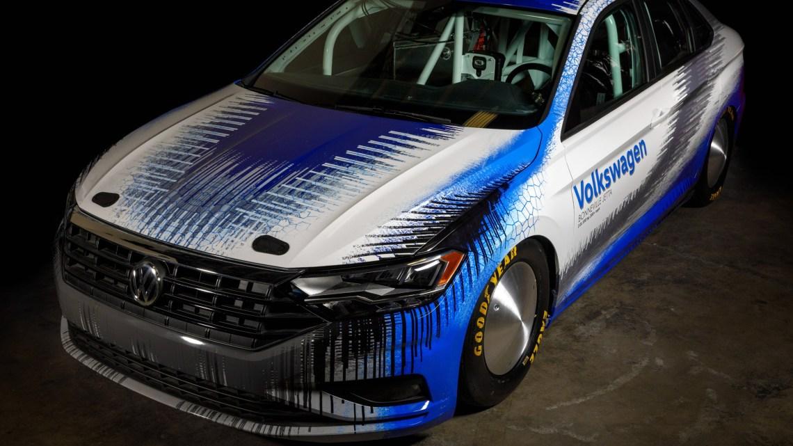 La VW Jetta Bonneville tentera d'établir un nouveau record de vitesse