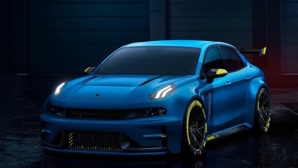 Lynk Co-03 Cyan Racing Concept 2018 – La marque automobile de Geely