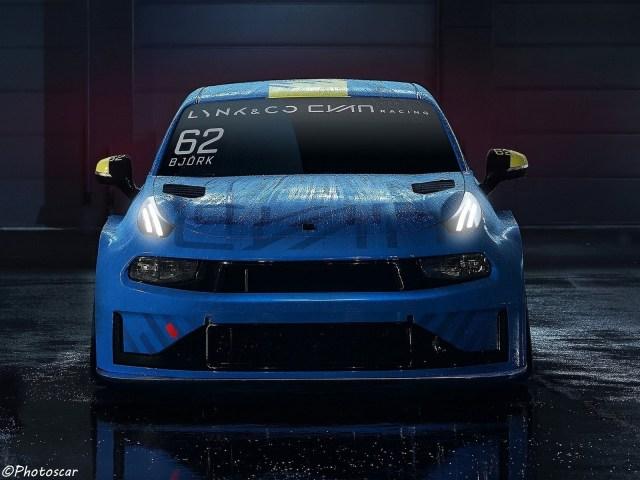 Lynk Co-03 Cyan Racing Concept 2018