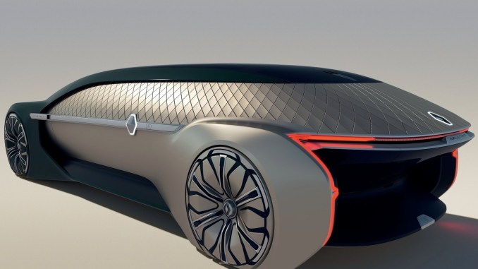 Renault EZ-Ultimo Concept 2018