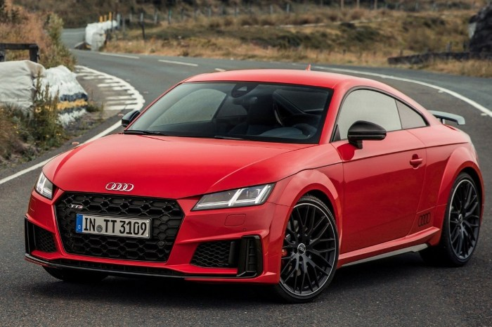 Audi TTS Coupe 2019 – Plus intense et plus inspirante