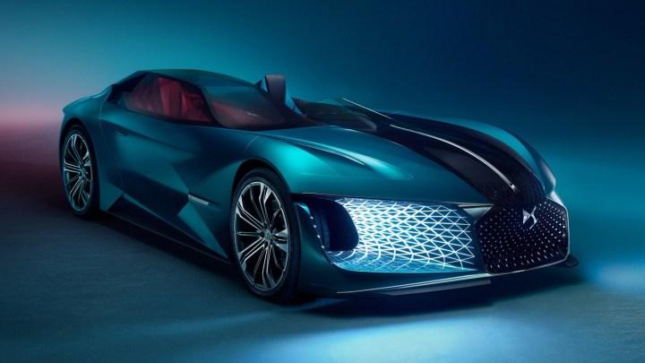 DS X E-Tense 2018 – Concept-car électrique et carrosserie flexible