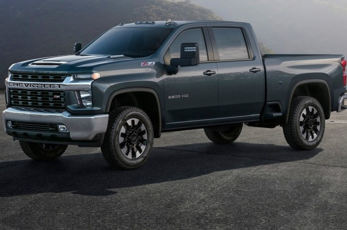Chevrolet Silverado HD 2020 – GM a revu chaque pièce de sa carrosserie.
