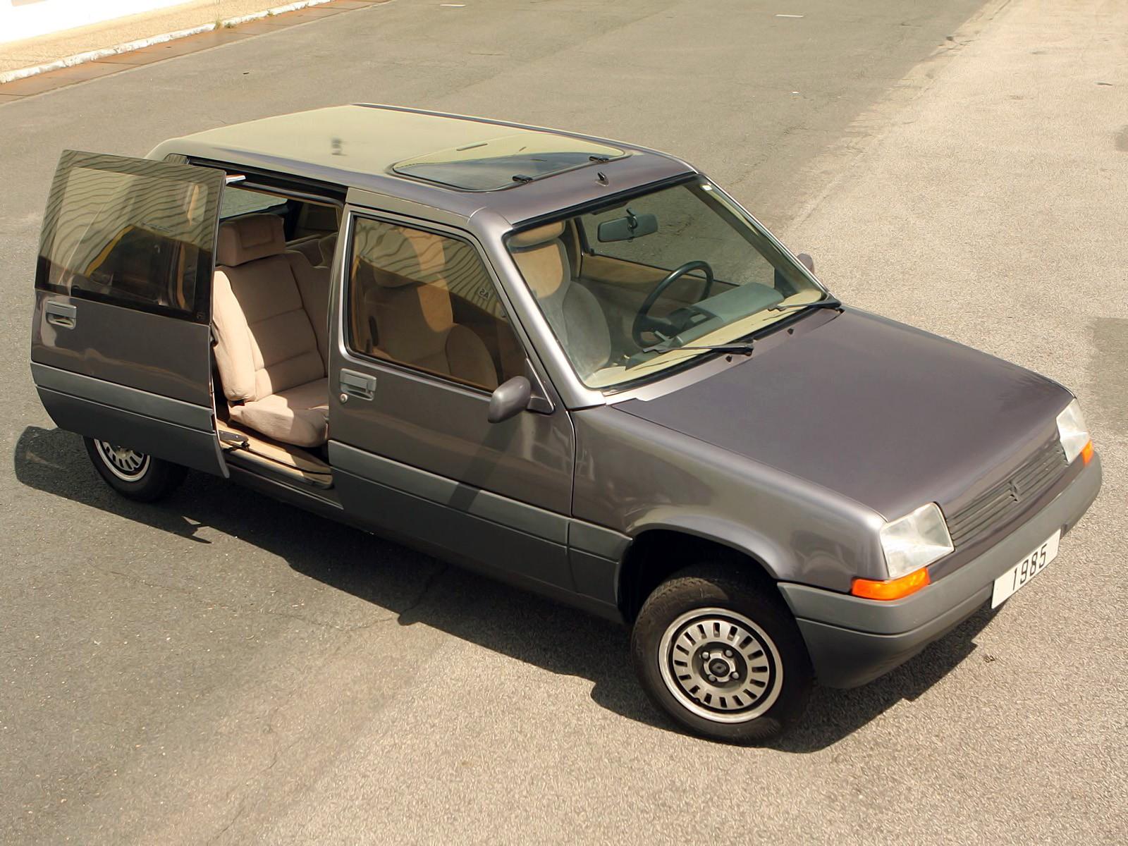 Heuliez Renault Super Cinq Van Concept 1985