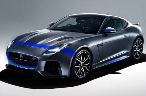 Jaguar F-Type SVR Graphic Pack Coupe 2018