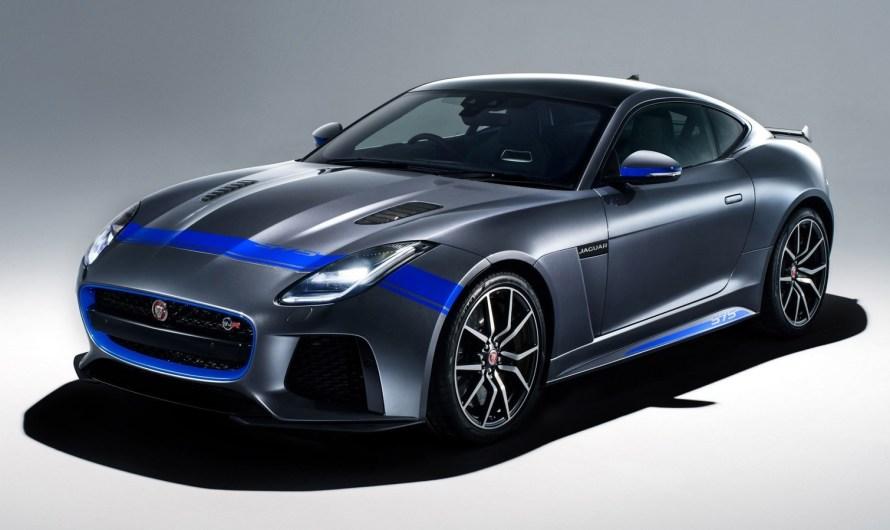 Jaguar F-Type SVR Graphic Pack Coupe 2018 – Le pack est gratuit