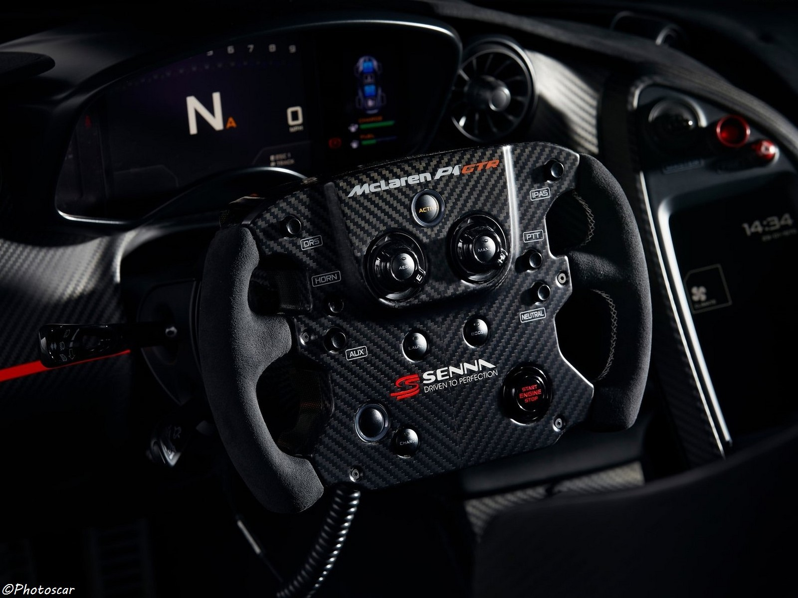 McLaren P1 GTR Senna 2018