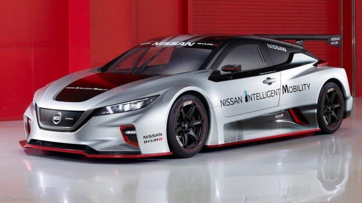 Nissan Leaf Nismo RC Concept 2018 – Plus légère et plus méchante