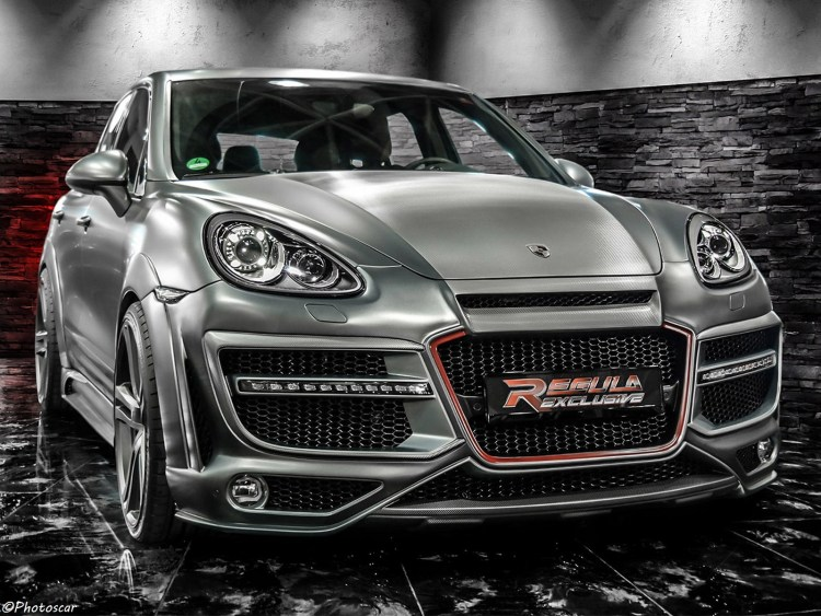 Porsche Caynne Regula Tuning 2014