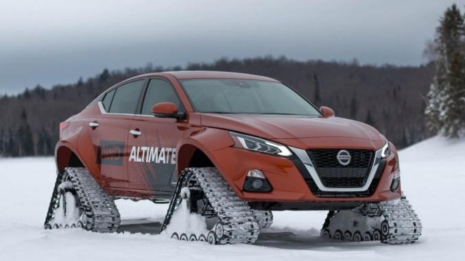 Nissan Altima te AWD Concept 2019