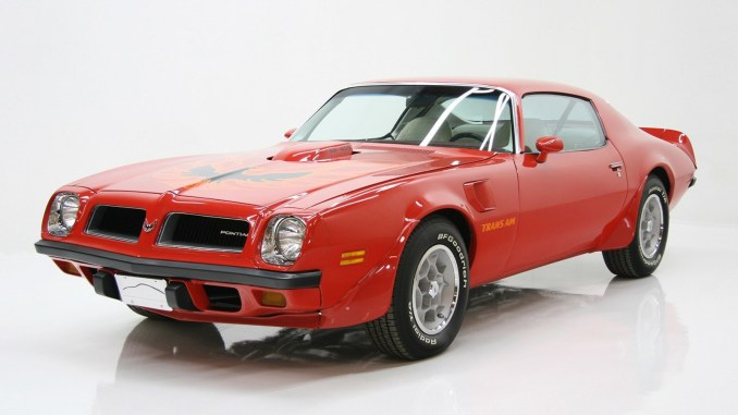 Pontiac Firebird Trans Am SD 1972