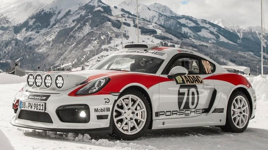 Porsche Cayman GT4 Rallye Concept 2019
