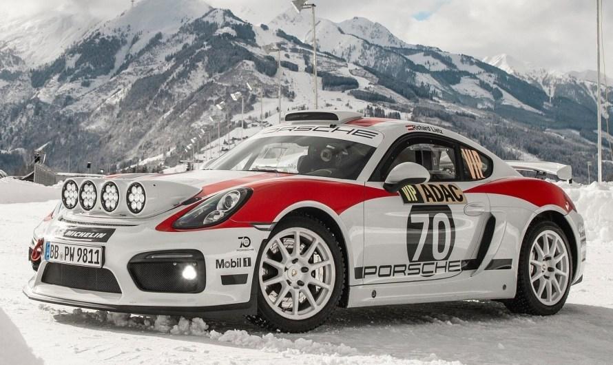 Porsche Cayman GT4 Rallye Concept 2019 prêt à disputer la saison 2020