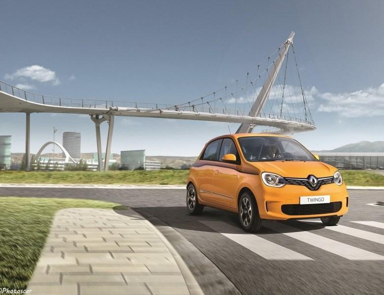 Renault Twingo 2019 – Nouveaux moteurs et plus de connectivité.