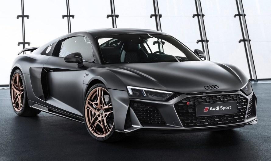 Audi R8 V10 Decennium 2019 commémore les 10 ans des moteurs V10.