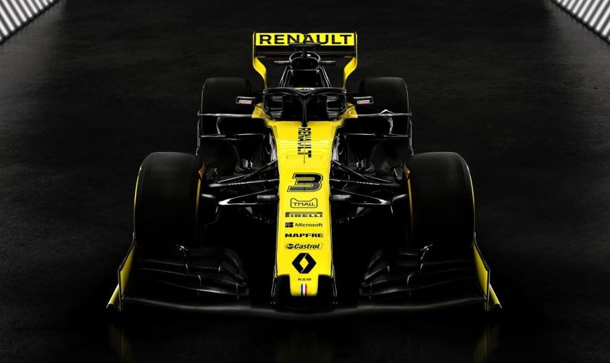 Renault RS19 F1 2019 – Le Losange conserve ses couleurs jaune et noire