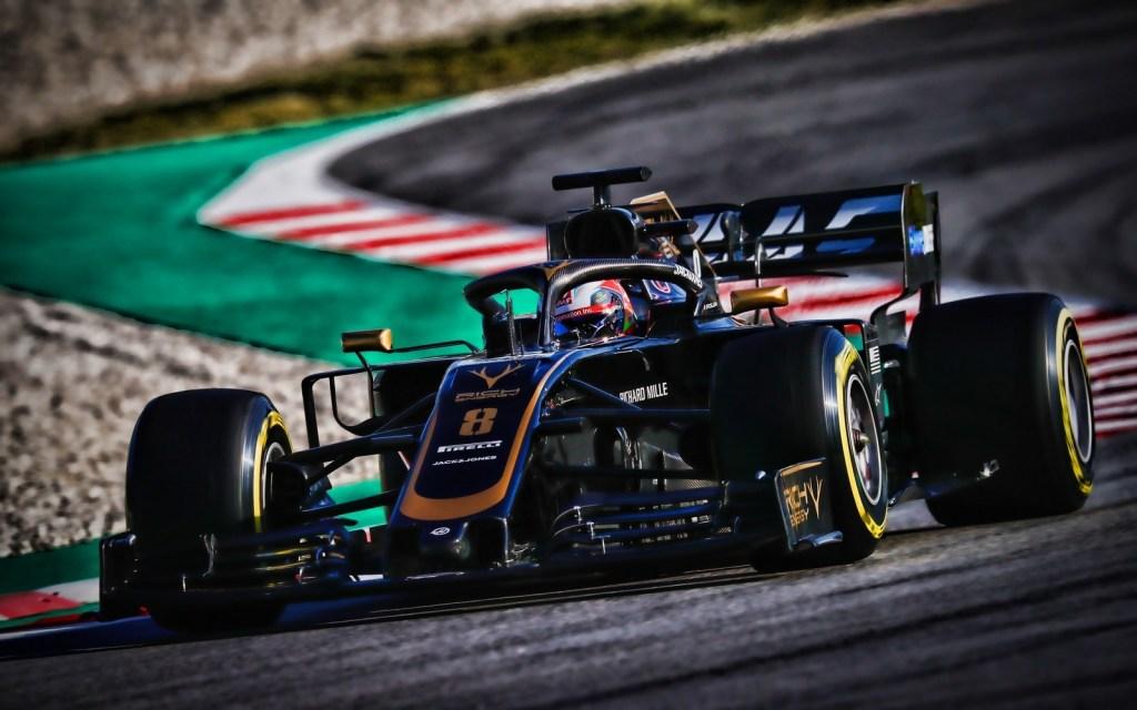 La nouvelle Haas VF19 F1 2019 pour le championnat de F1 2019