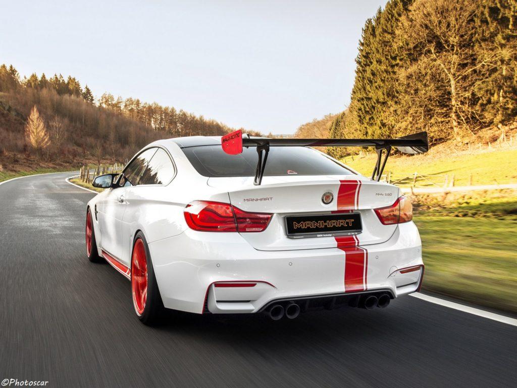 Manhart BMW MH4 550 F82 2018