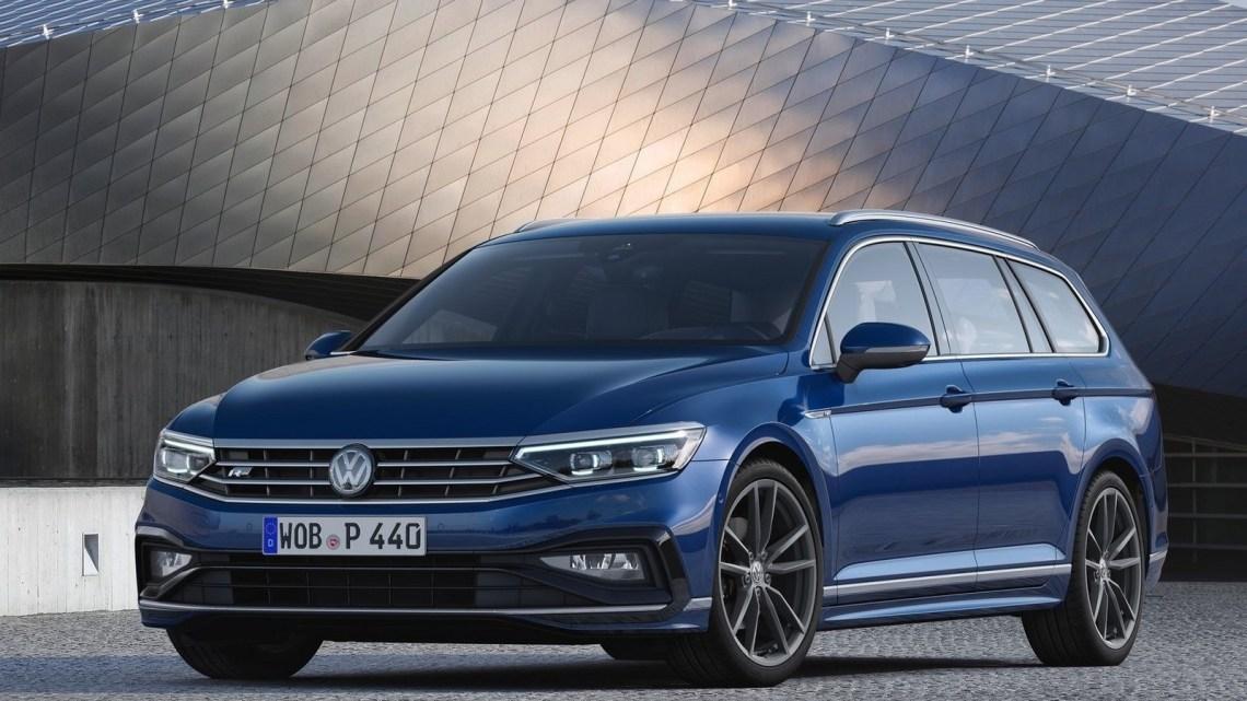 Volkswagen Passat Variant 2020 – La grande berline de taille moyenne.