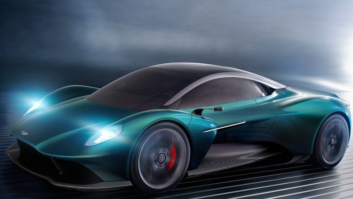 Aston Martin Vanquish Vision Concept 2019 avec un moteur V6 bi-turbo