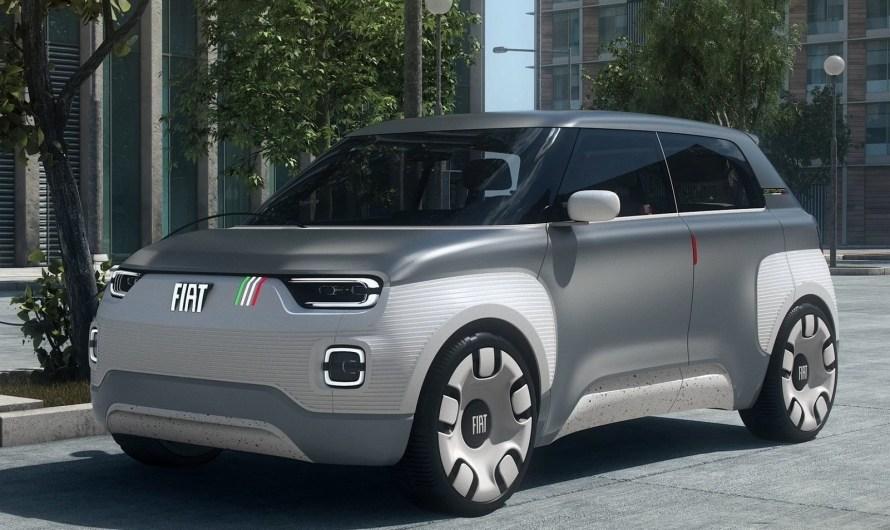 Fiat Centoventi Concept 2019 – Le concept 100% électrique à Genève.