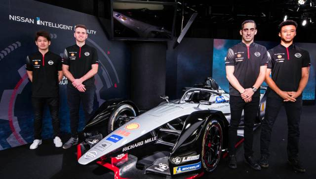 Formule E 2019 - Nissan E-Dams