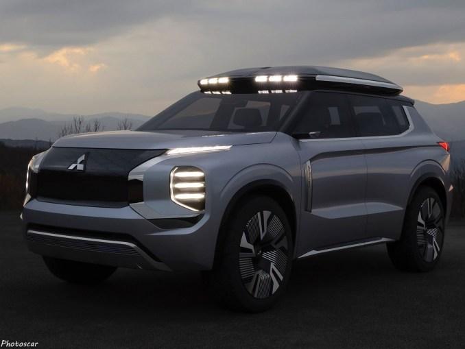 Mitsubishi Engelberg Tourer Concept 2019