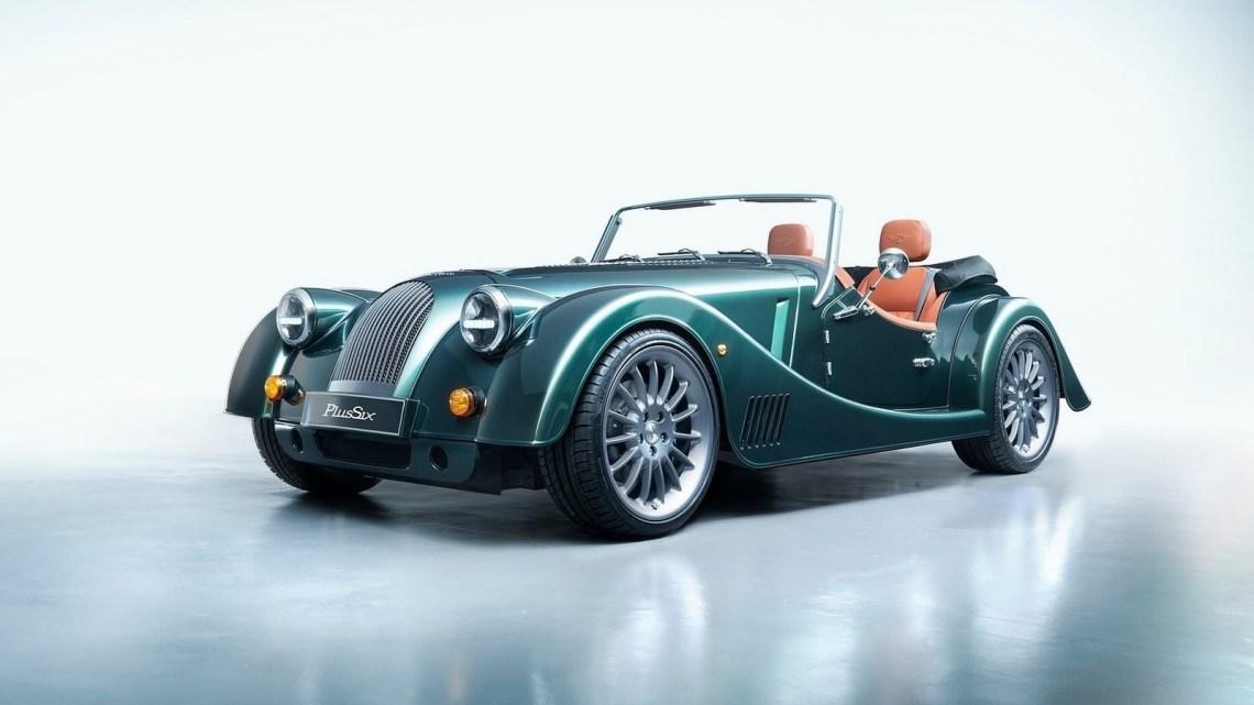 Morgan Plus Six 2020 – Classique à l'extérieur et moderne à l'intérieur.